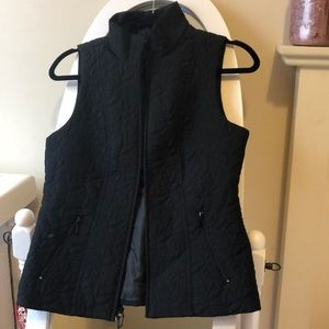 Dress Barn Black Vest